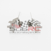 PN RACING, 10CR75 V2 HIGH POWER PURE SILVER BRUSHES SET