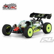 PROLINE, 3456-17 TYPE-R 1/18 BUGGY PRECUT CLEAR BODY FOR KYOSHO MP9 TK13
