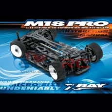XRAY, 380003 M18 PRO LIPO 4WD SHAFT 1/10 MICRO CAR