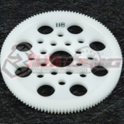 3RACING, 3RAC-SG64118 64 PITCH SPUR GEAR 118T