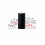 PN RACING, 412619 2WD MACHINE CUT DELRIN 126P PINION 19T