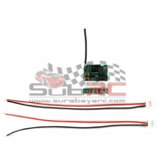 PN RACING, 500806 2.4GHZ 3CH MICRO RECEIVER COMPATIBLE DSM2