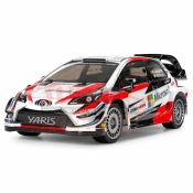 TAMIYA, 51608 1/10 SCALE RC TOYOTA GAZOO RACING WRT YARIS WRC BODY PARTS SET