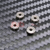 PN RACING, 600127 MINI-Z 2X6X2.5MM SHIELD HUB DRY BALL BEARING 4 PCS