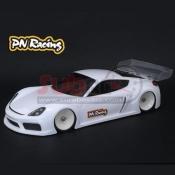 PN RACING, 600814 GT4LB 1/28 LEXAN BODY KIT 98MM WB