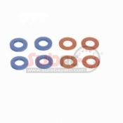 PN RACING, 700409 MR03 COLOR SHIM SET FOR KINGPIN