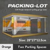 725202 PARKING LOT 2 SPACES ORANGE