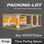 725302 PARKING LOT 3 SPACES ORANGE