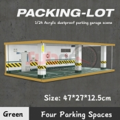 725403 PARKING LOT 4 SPACE GREEN