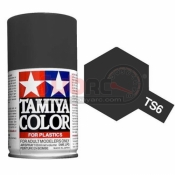 TAMIYA, 85006 TS6 MATT BLACK SPRAY 100ML