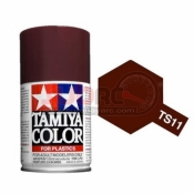 TAMIYA, 85011 TS11 MAROON 100ML SPRAY