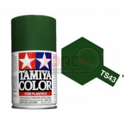 TAMIYA, 85043 TS43 RACING GREEN 100ML SPRAY