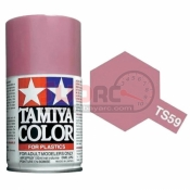 TAMIYA, 85059 TS59 PEARL LIGHT RED 100ML SPRAY