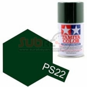 TAMIYA, 86022 PS22 RACING GREEN 100ML SPRAY