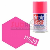 TAMIYA, 86029 PS29 FLUORESCENT PINK 100ML SPRAY