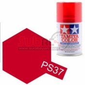TAMIYA, 86037 PS37 TRANSLUCENT RED 100ML SPRAY