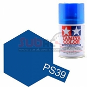 TAMIYA, 86039 PS39 TRANSLUCENT BLUE 100ML SPRAY
