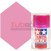 TAMIYA, 86040 PS40 TRANSLUCENT PINK SPRAY 100ML