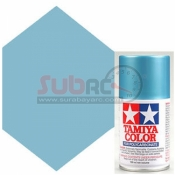TAMIYA, 86049 PS49 SKY BLUE AND ADONIZED ALUMINIUM SPRAY 100ML