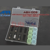 ARR, ABX-003 MOTOR AND MOTOR GEARS STORAGE BOX (107 X 176 X 26MM)