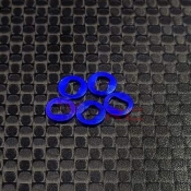GL RACING, AC004-B AWD OFFSET SPACER SET (+0,5MM)