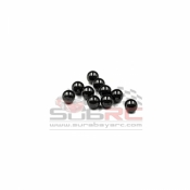 GL RACING, AC005 2MM CERAMIC THRUST BALLS G5