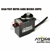 ATOMIC, AESC02 HIGH-VOLT METAL GEAR MICRO SERVO