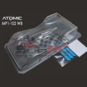 ATOMIC, AMZ-OP011-MP1L MRZ LEXAN PAN CAR BODY MP1 WB102MM