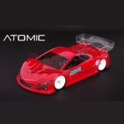 ATOMIC, AMZ-OP011-VST LEXAN TOURING BODYSHELL VST 98MM WB