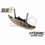 ATOMIC, AW-018 WIDE ALUMINIUM CARBON BUMPER GOLDEN