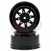 AXIAL, AX08101 2.2.3.0 RACELINE RENEGADE WHEELS 41MM BLACK