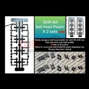 DRIFT ART, BEP BALL END PLASTIC FOR DRIFT ART