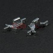 ATOMIC, BZ-003-W BZ UPPER BULKHEAD (+2,5MM) 1 PAIR