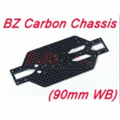 ATOMIC, BZ-UP000-90 BZ CARBON CHASSIS 90MM WB