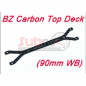 ATOMIC, BZ-UP001-90 BZ CARBON TOP DECK 90MM WB