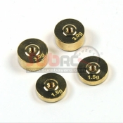 ATOMIC, BZ-UP006 BZ BALANCE WEIGHT (1.5GR, 3 GR 2PCS EACH)
