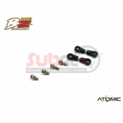 ATOMIC, BZ17-12 REAR CAMBER LINK AND BALL HEADS 2 SET