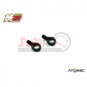ATOMIC, BZ17-19 BZ2017 FRONT CAMBER PLASTIC BALL LINKS (2PCS)