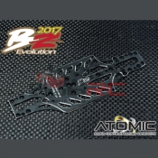 ATOMIC, BZ17-UP05 ALU CHASSIS 98MM WB