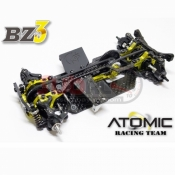 ATOMIC, BZ3-KIT 1/28 4WD BELT DRIVEN BZ3 CHASSIS KIT
