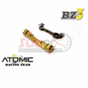 ATOMIC, BZ3-UP02-2 BZ3 ALU TOE ANGLE MOUNT WCARBON UPPER MOUNT 2 DOT