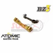ATOMIC, BZ3-UP02-1 BZ3 ALU TOE ANGLE MOUNT WCARBON UPPER MOUNT 1 DOT