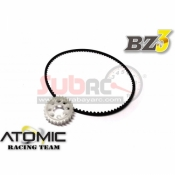 ATOMIC, BZ3-UP03-P26 26T OPTION PULLEY FOR BZ ALU BALL DIFF W/ 180MM BELT
