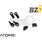 ATOMIC, BZ3-UP05 EXTENDED SHOCK MOUNT W/ LONG DAMPER (BZ3, BZ EVO,SZ, FFZ)