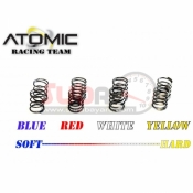 ATOMIC, BZ3-UP08F BZ3 FRONT SPRING BLUE,RED,WHITE,YELLOW
