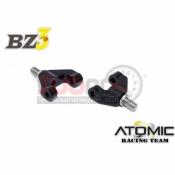 ATOMIC, BZ3-UP11 BZ3 ALUMINIUM FRONT UPPER ARM 1 PAIR