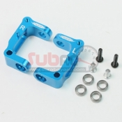YEAH RACING, CC01-005BU ALUMINIUM C-HUB W/ BALL BEARING BLUE FOR TAMIYA CC-01