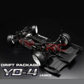 YOKOMO, DP-YD4 1/10 DRIFT PACKAGE YD-4 4WD EP COMPETITION DRIFT PACKAGE