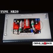 DEMIWORKS, DWSR20 SR20 ENGINE BAY POLYCARBONATE CLEAR FOR 1:10 BODY
