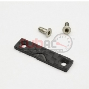 GL RACING, GA0005 CARBON FIBER BODY MOUNT PROTECTIVE PLATE